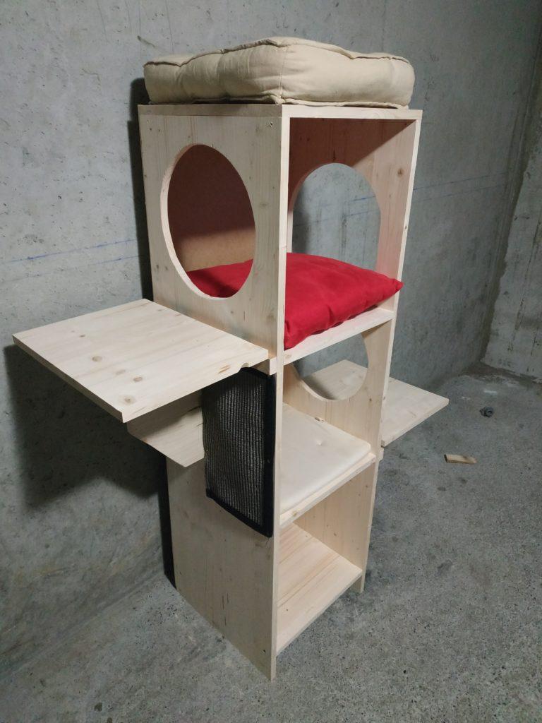 arbre à chats étagères, modulable - abz design Annecy