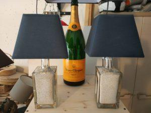 Lampes bouteilles de nuit - abz design Annecy